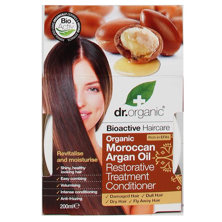 Dr. Organic Moroccan Argan Oil Hair Treatment Conditioner
