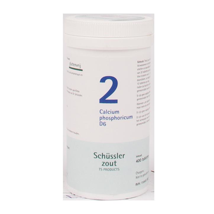 Schüssler Zout 2 Calcium Phosphoricum (400 Tabletten)