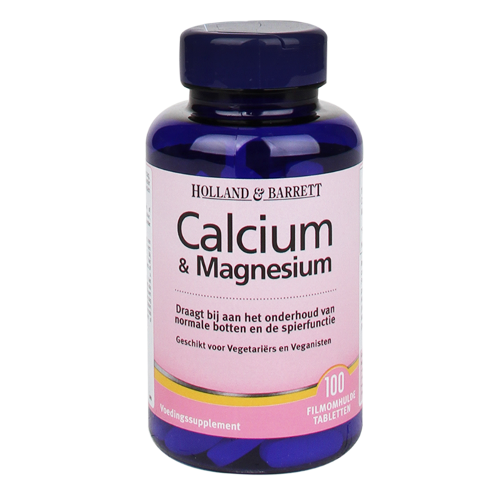 Holland & Barrett Calcium + Magnesium 100 Tabletten