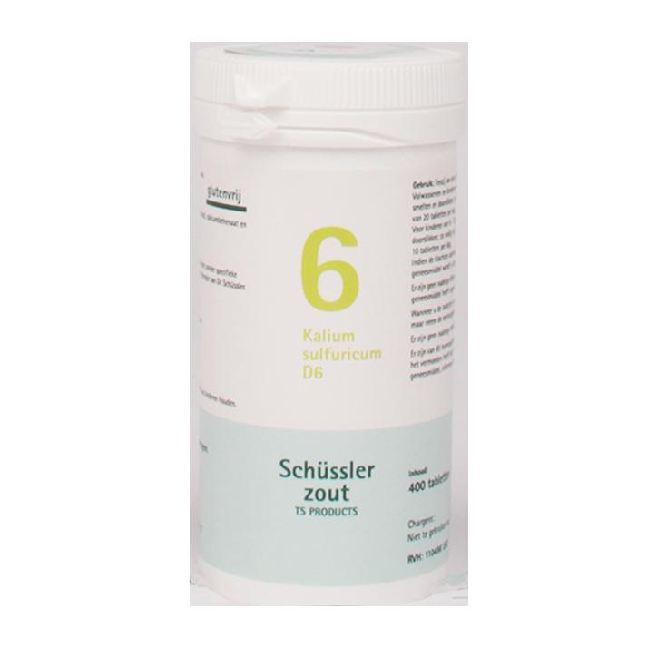 Schüssler 6 Kalium Sulfuricum D6 (400 Tabletten)