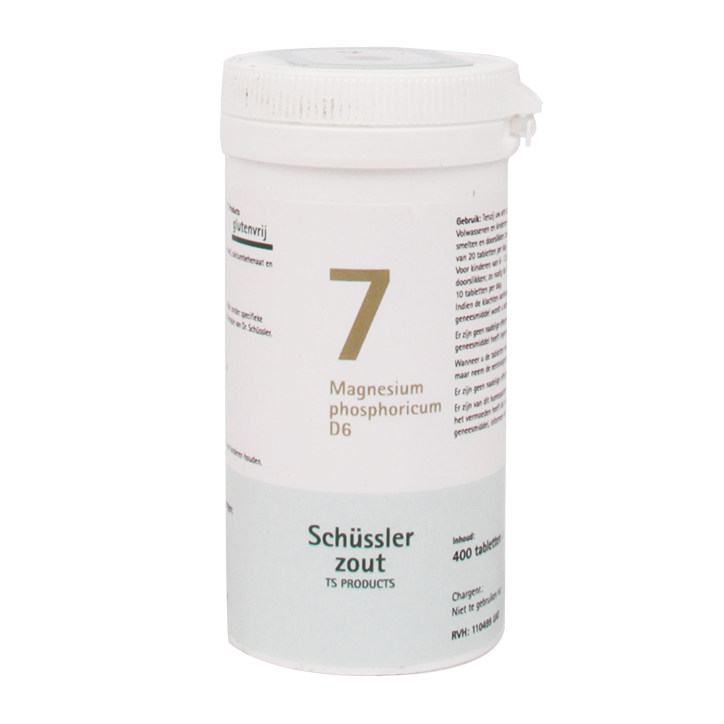 Schüssler zout 7 Magnesium Phosphoricum (400 Tabletten)