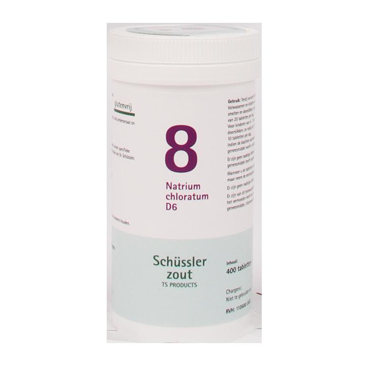 Schüssler Zout 8 Narium Chloratum D6 (400 Tabletten)