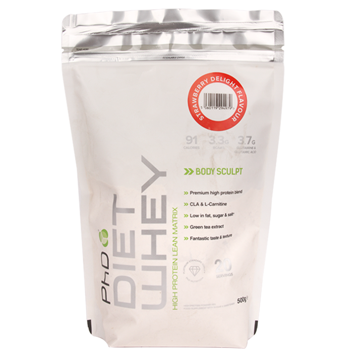 PhD Diet Whey Strawberry Delight 500g
