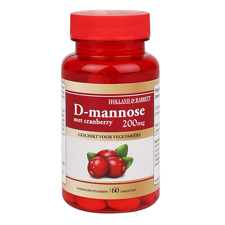 Holland & Barrett D-Mannose Met Cranberry (60 Tabletten)