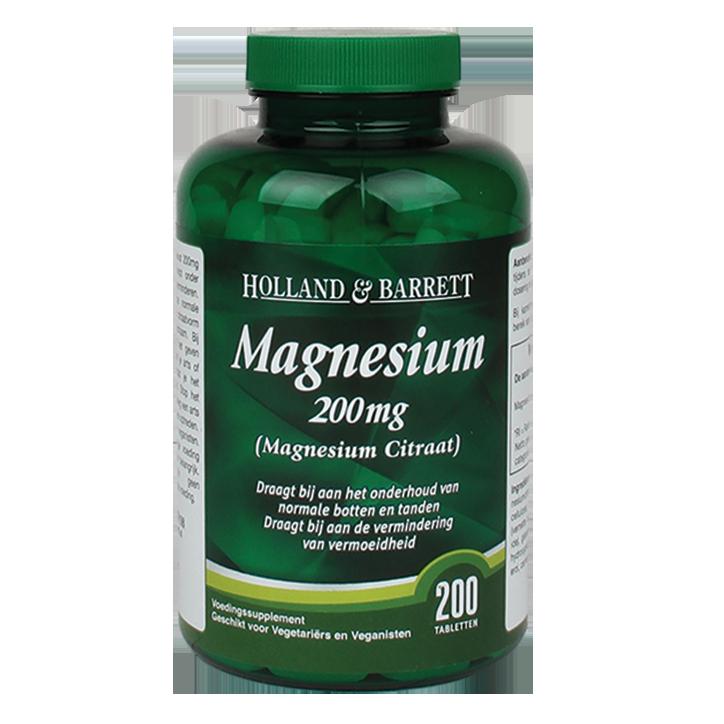 Holland & Barrett Citrate de magnésium