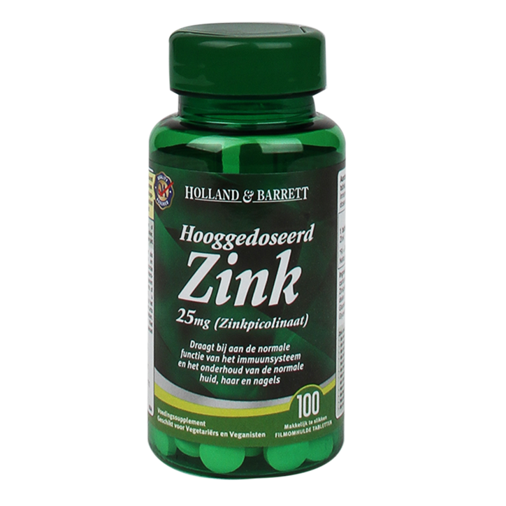 Holland & Barrett Zink 25mg