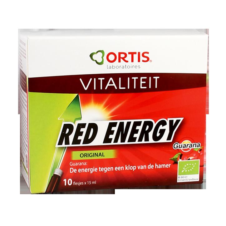 Ortis Red Energy Original Vloeibaar Bio