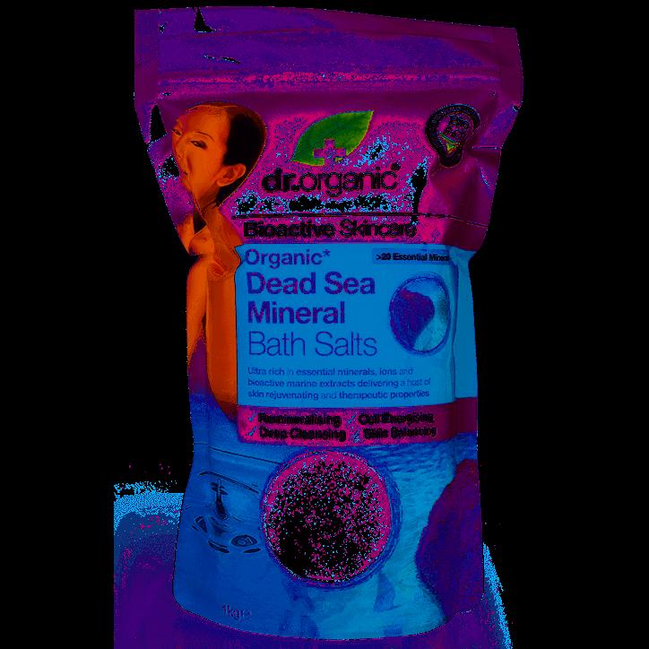 Dr. Organic Dead Sea Mineral Bath Salts