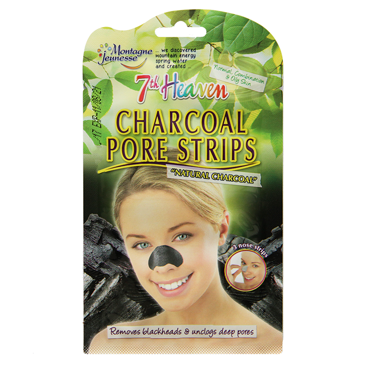 Montagne Jeunesse 7th Heaven Charcoal Pore Strips