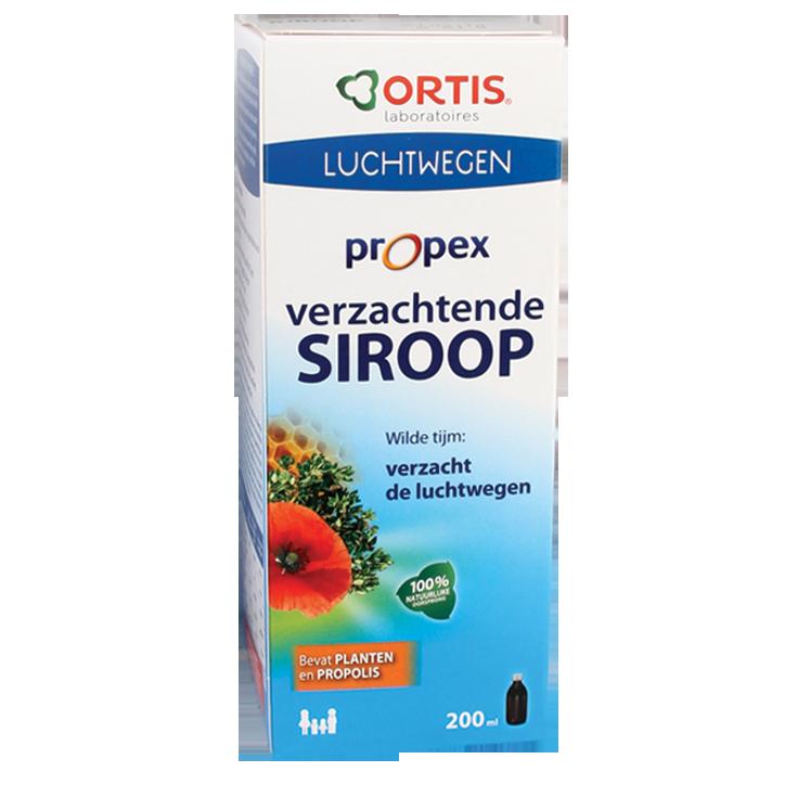 Ortis Propex Verzachtende Siroop Luchtwegen
