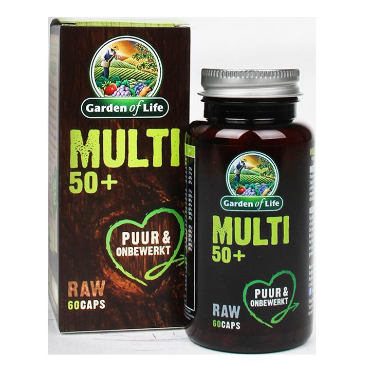 Garden Of Life Raw Multi 50+ (60 Capsules)