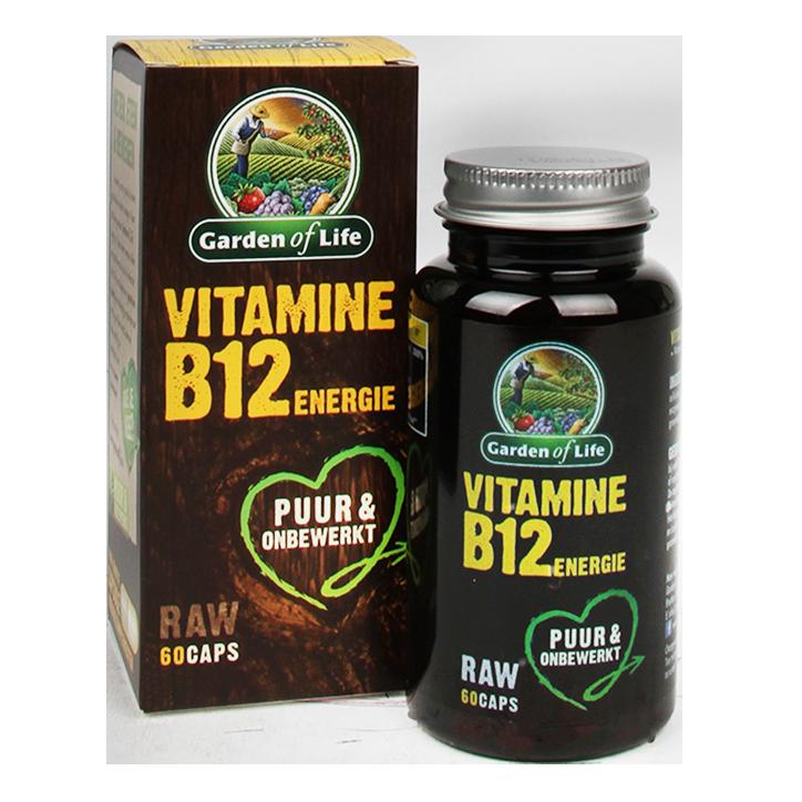 Garden Of Life Raw Vitamine B12 Energie (60 Capsules)