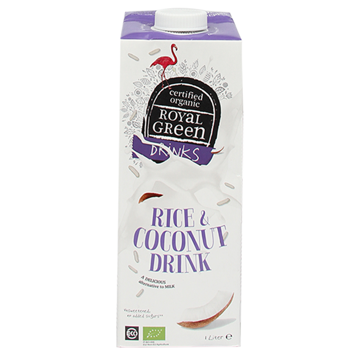 Royal Green Rice & Coconut Drink Bio