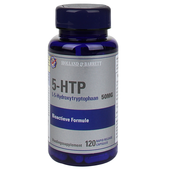 Holland & Barrett 5-HTP 50mg 120 Capsules