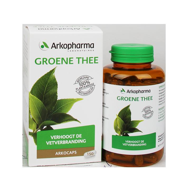 groene thee extract de tuinen