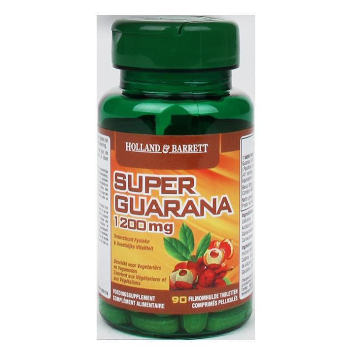 Holland & Barrett Super Guarana 1200 mg 90 comprimés