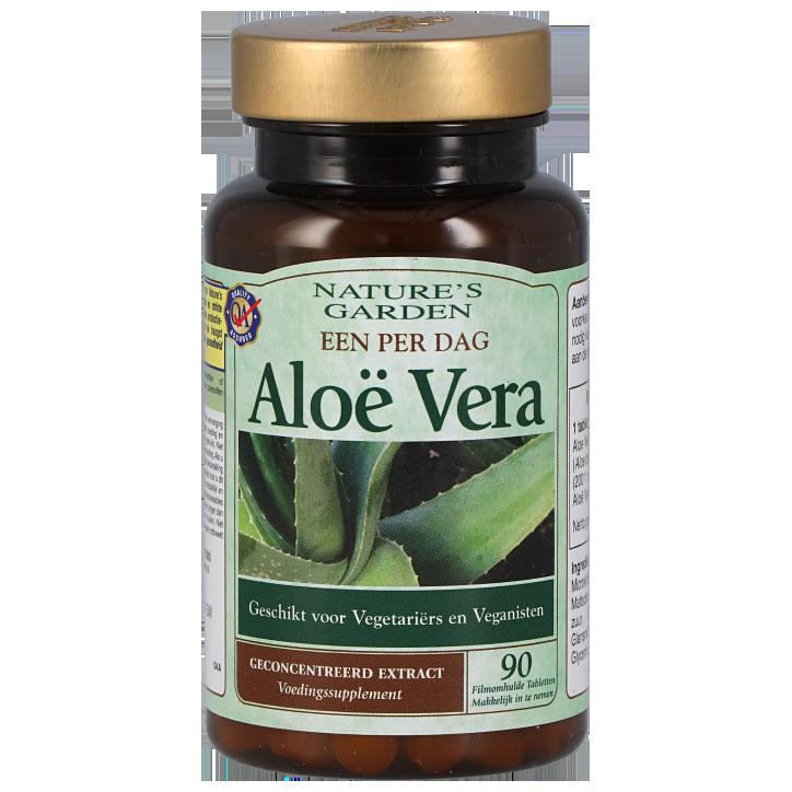 Nature's Garden Aloë Vera One A Day (90 Tabletten)