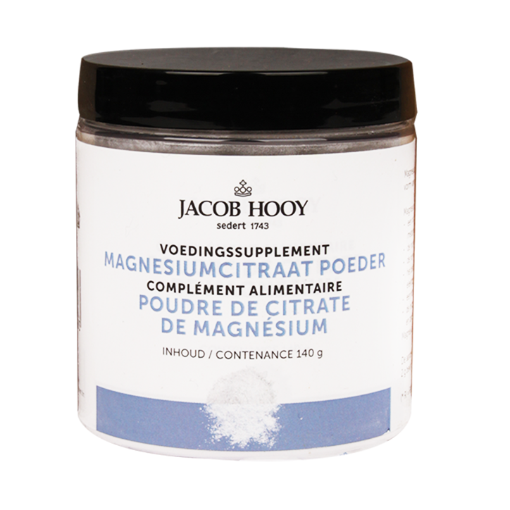 Jacob Hooy Magnesiumcitraat Poeder (140gr)