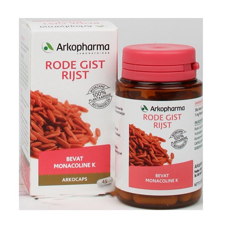 Arkopharma Rode Gist Rijst, 175mg (45 Capsules)