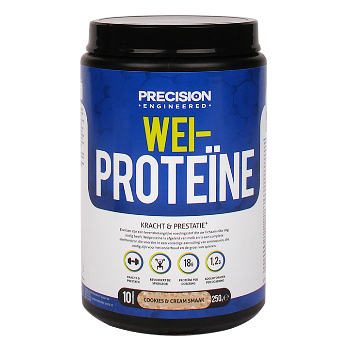 Precision Engineered Whey Proteïn Cookies & Cream 250gr