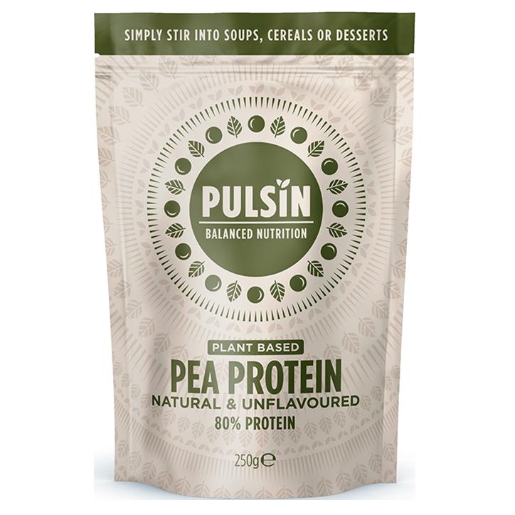 Pulsin' Pea Protein Isolate (250gr)