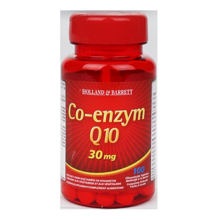 Holland & Barrett Co-Enzym Q10, 30mg (100 Tabletten)