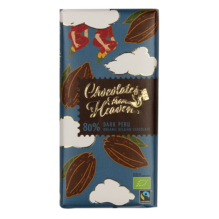 Chocolates From Heaven Puur 80% Cacao Bio