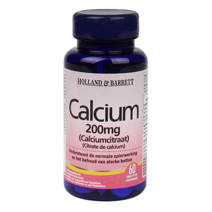 Holland & Barrett Calcium Citraat 200mg