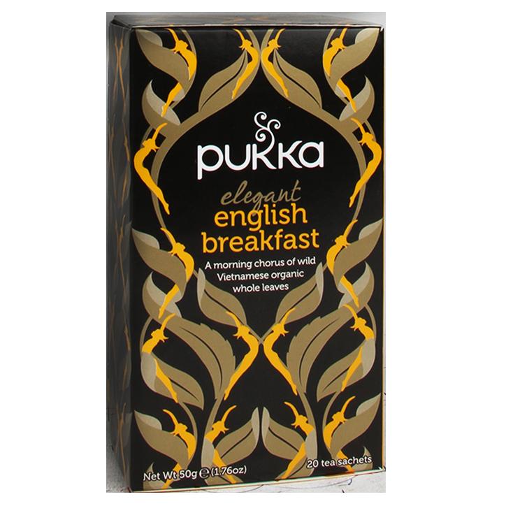 Pukka English Breakfast Bio (20 Theezakjes)