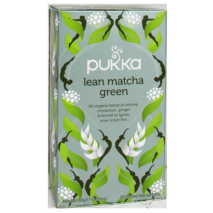 Pukka Lean Matcha Green Bio (20 Theezakjes)