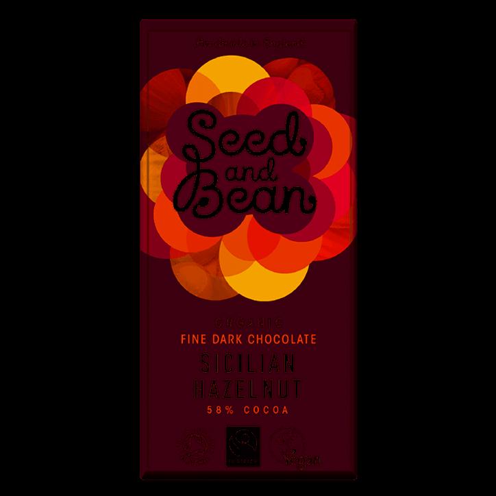 Seed And Bean 58% Pure Chocolate Hazelnut Bio
