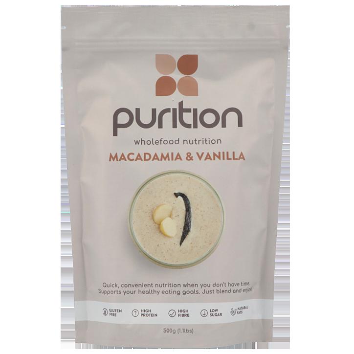 Purition Proteine Vanille Macadamia