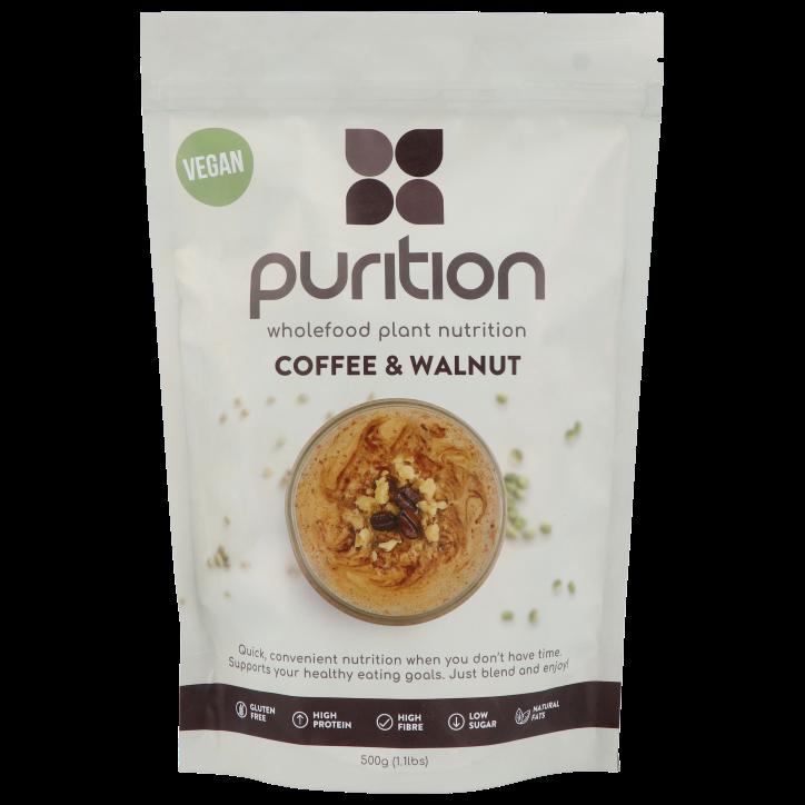 Purition Vegan Koffie en Walnoot 500g