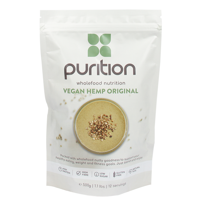 Purition Vegan Plant Hennep 500g