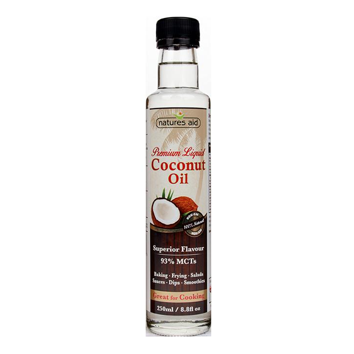 Natures Aid Coconut Oil (250ml)