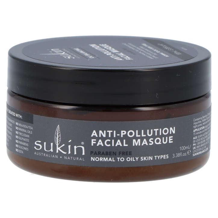Sukin Oil Balancing Anti-Pollution Facial Masque + Charcoal