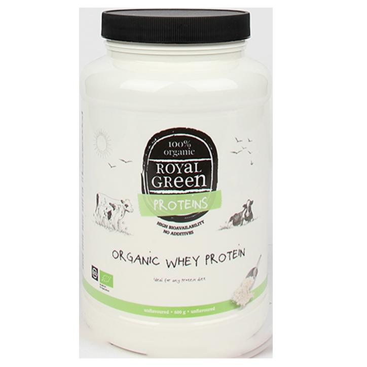 Royal Green Organic Whey Protein (600gr)