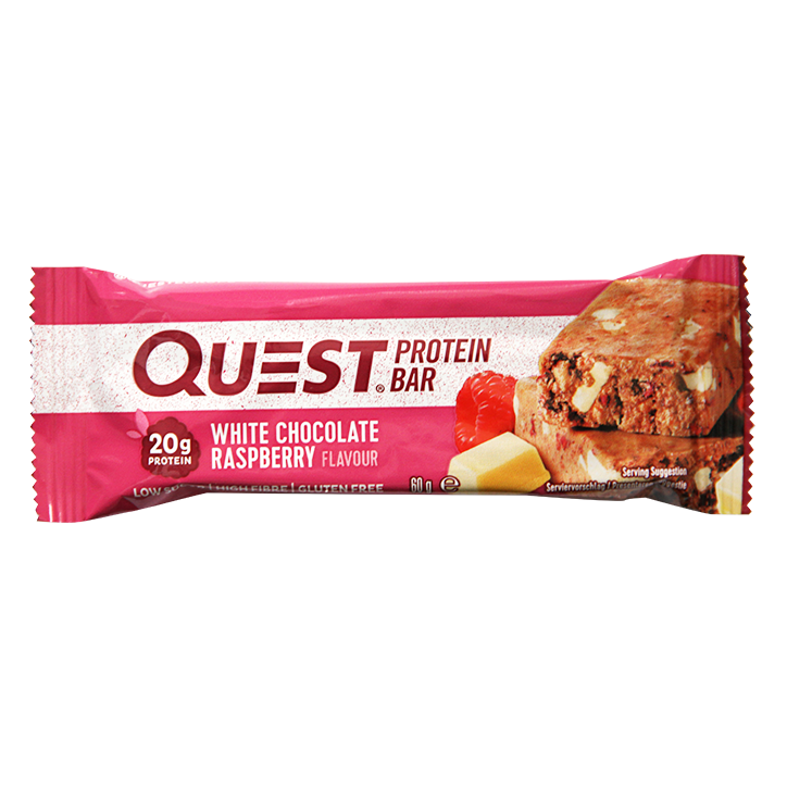 Quest Protein Bar Witte Chocolade Framboos