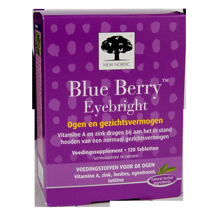 New Nordic Blue Berry Eyebright (120 Tabletten)
