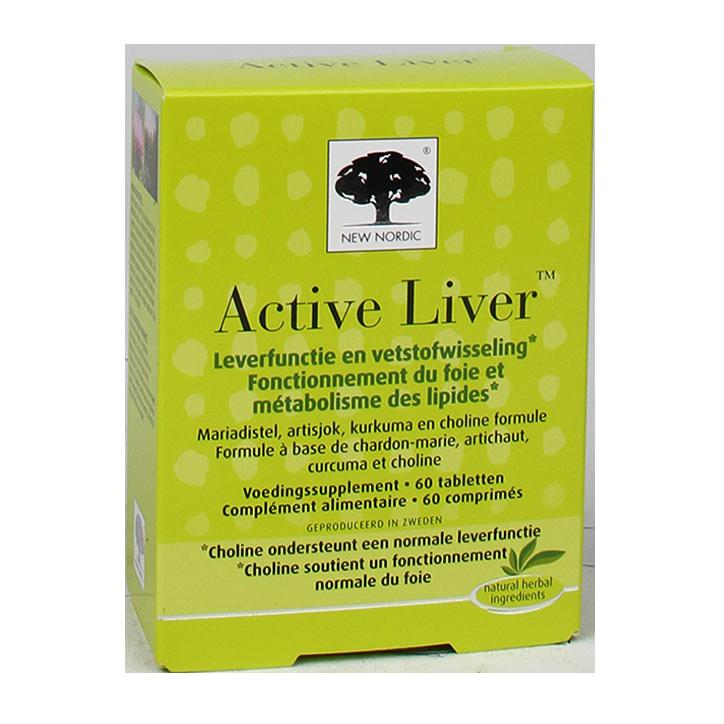 New Nordic Active Liver (30 Tabletten)