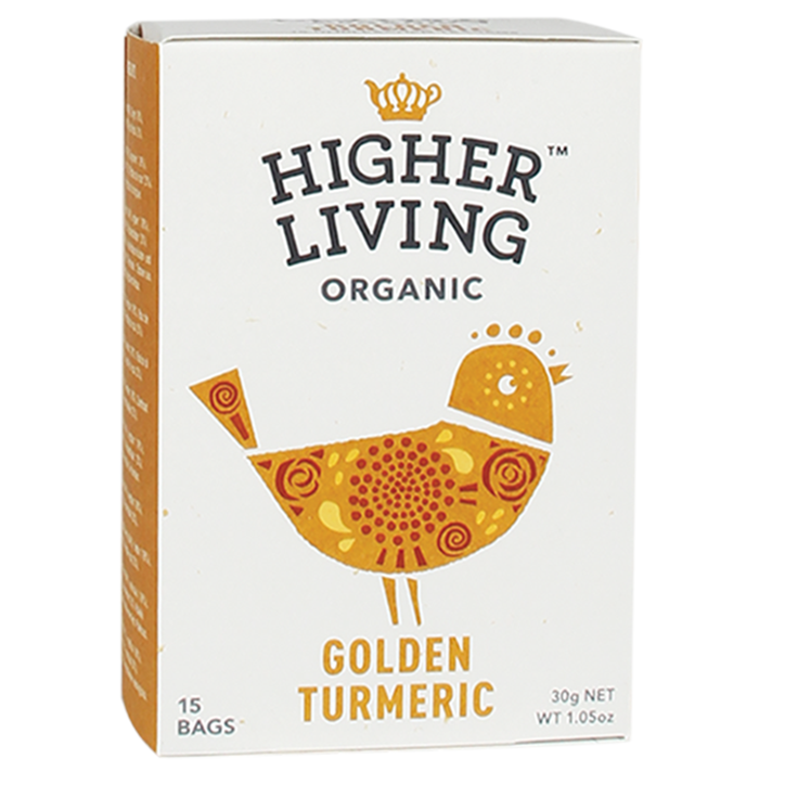 Higher Living Golden Turmeric Tea Bio