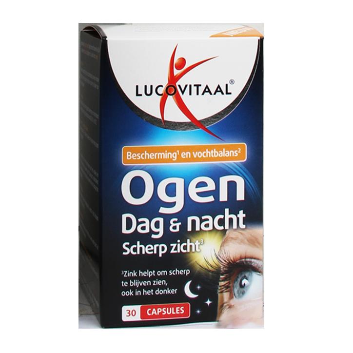 Lucovitaal Ogen Dag En Nacht (30 Capsules)