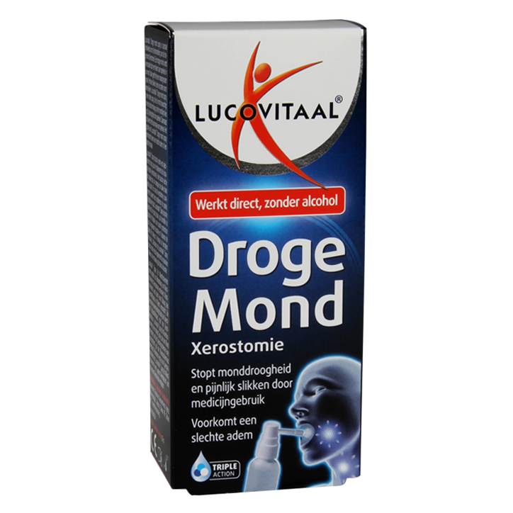 Lucovitaal Droge Mond Spray (20ml)