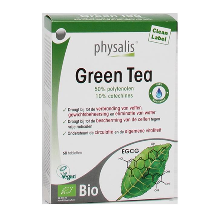 Physalis Green Tea Bio