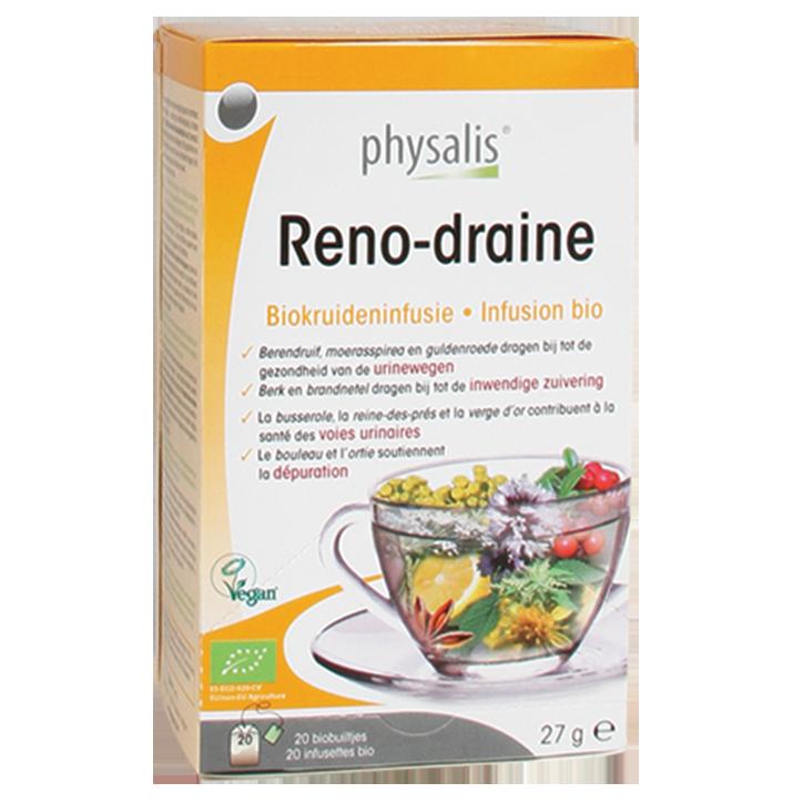Physalis Reno-Draine Bio (20 Theezakjes)