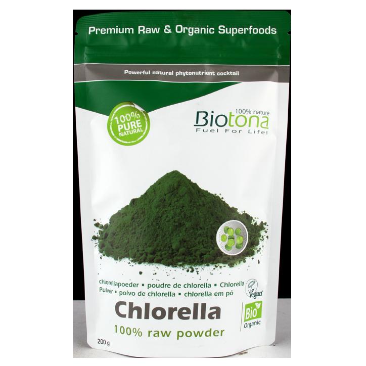 Biotona Chlorella Poeder Bio (200gr)