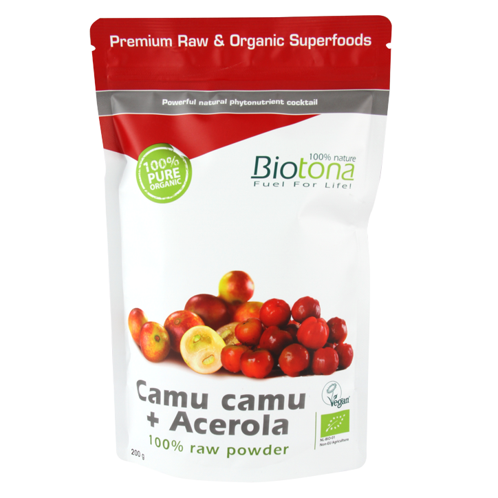 Biotona Poudre de Camu Camu + Acerola Bio