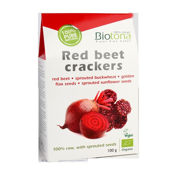 Biotona Red Beet Crackers Bio