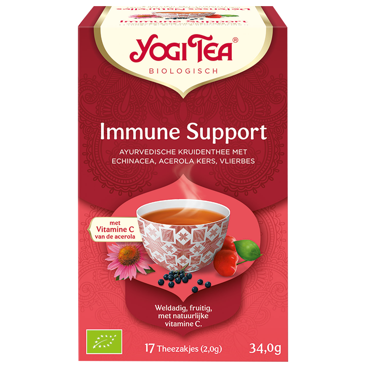 Yogi Tea Immune Support Bio (17 Theezakjes)