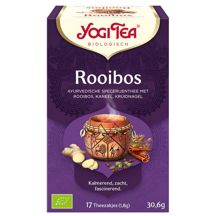 Yogi Tea Rooibos Bio (17 Theezakjes)